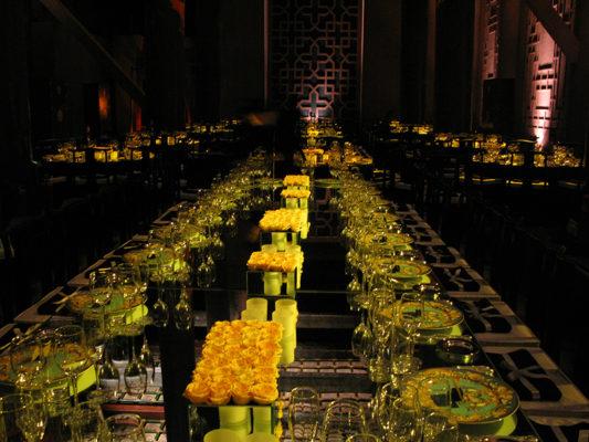 Versace Dinner at Forbidden City, China