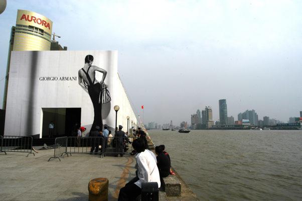 Giorgio Armani - SPRING 2014 READY-TO-WEAR (Shanghai)